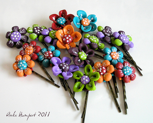 anke humpert flower hairpin