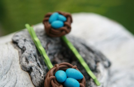 Tutorial: Bird Nest Hairpins