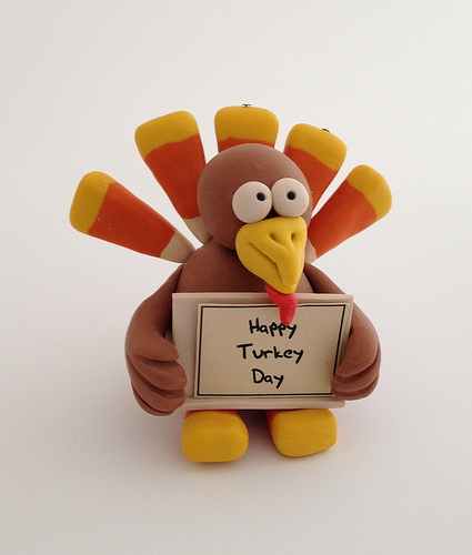 Happy Turkey Day with Polymer Clay of Course