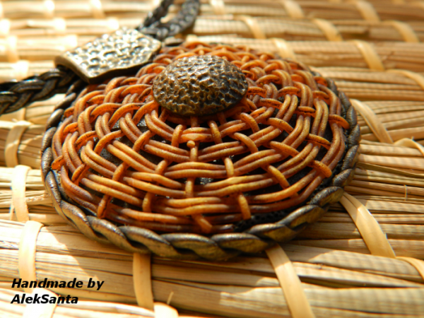 Basket Weaving in Polymer Clay