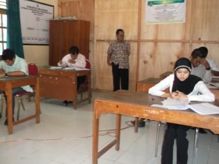 suasana ujian staff pemerintahan