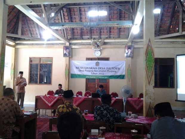 Musyawarah Desa Ponjong
