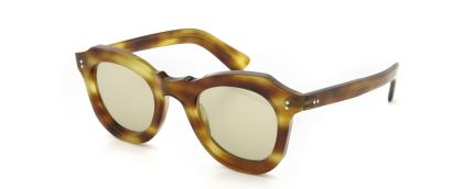 Lesca vintage BUTTERFLY Light-Havana (v1) Light-Brown-lense