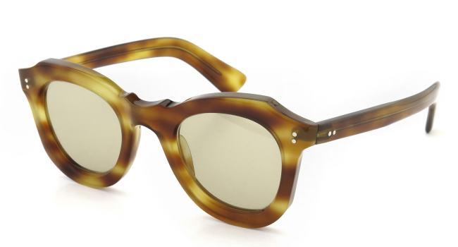 Lesca vintage BUTTERFLY Light-Havana (v1) Light-Brown-lense
