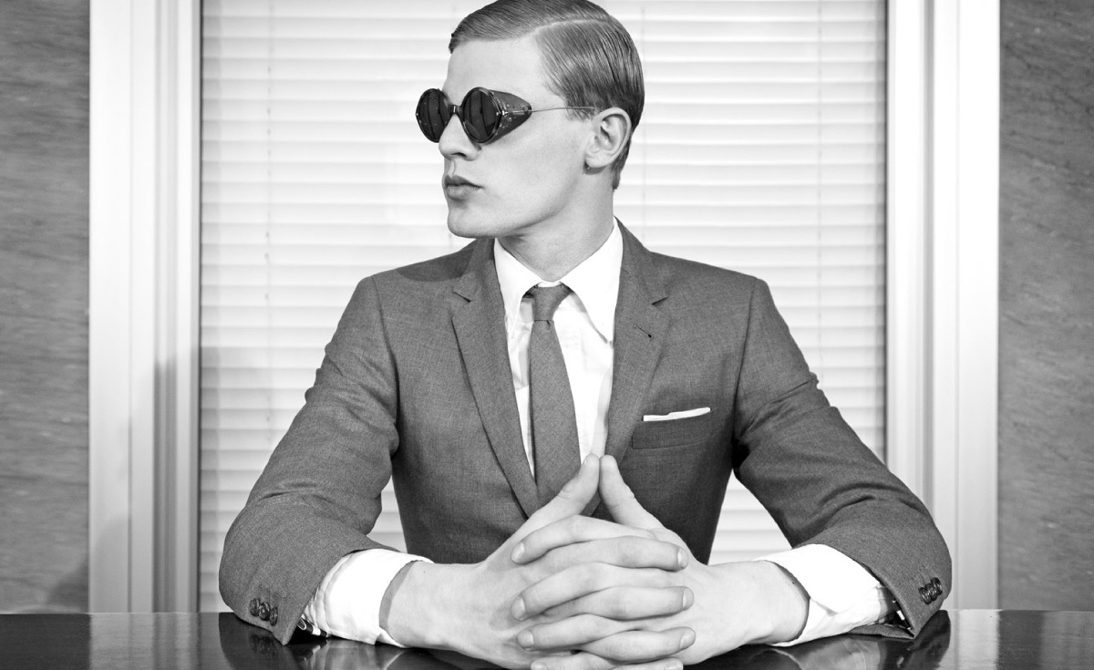 THOM BROWNE eyewear 2011 lookbook 15 ponmegane