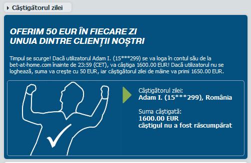 zi a anului poate face un roman fericit si mai bogat cu 1600 euro ...