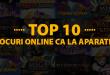 Top 10 jocuri online ca la aparate