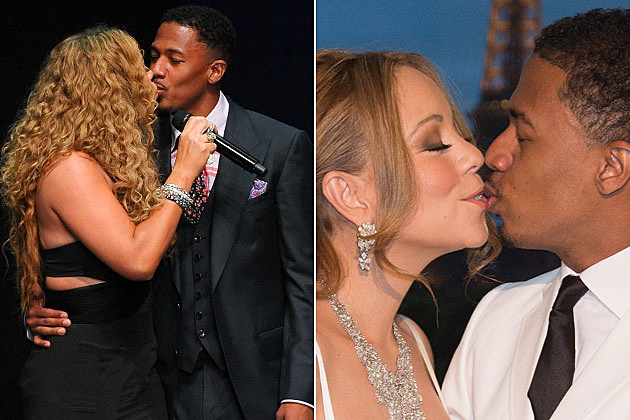 Mariah Carey Nick Cannon Kissing