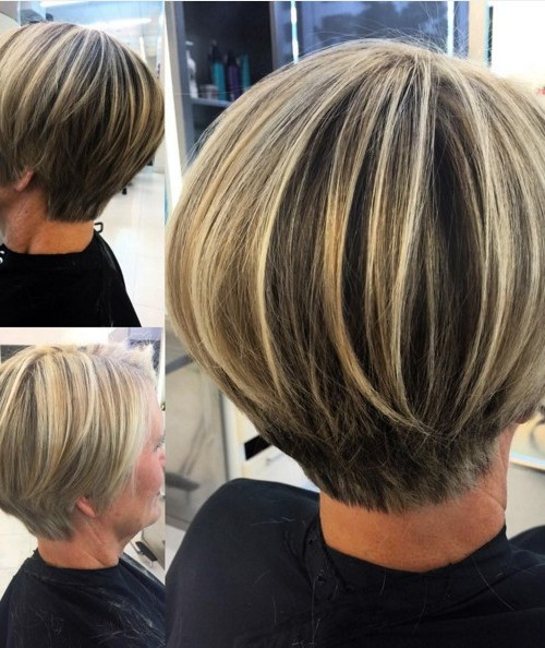 Layered Short Bob Hair Cuts