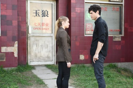 """SHADOWHUNTERS - """"Bad Blood"""" - Alec and Clary are forced to make some hard decisions in """"Bad Blood,"""" an all-new episode of """"Shadowhunters,"""" airing Tuesday, March 1st at 9:00 – 10:00 p.m., EST/PST on Freeform, the new name for ABC Family. (Freeform/John Medland) STEPHANIE BENNETT, MATTHEW DADDARIO"""