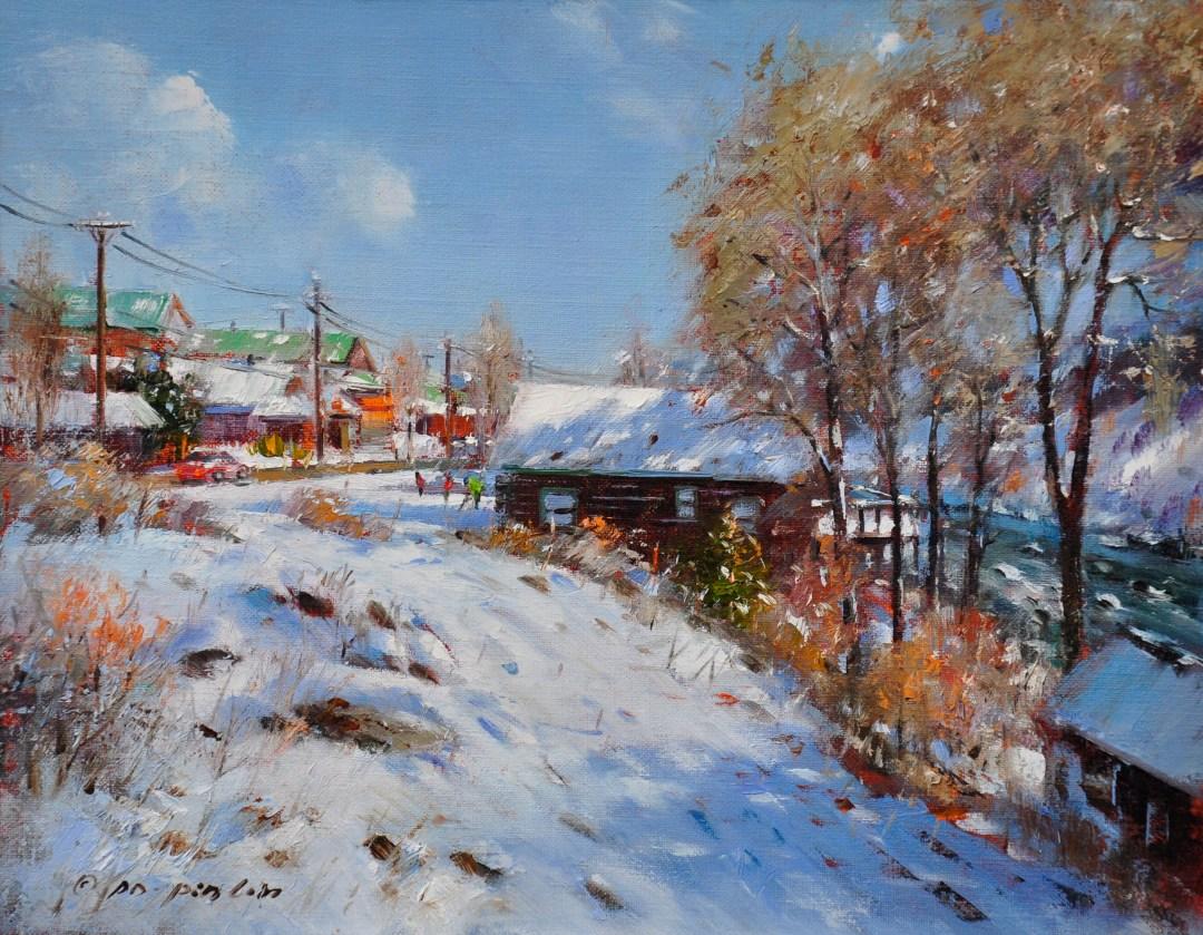 Winter Lights, 11x14