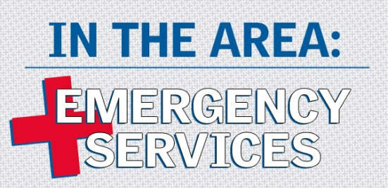 in the area - emergency services