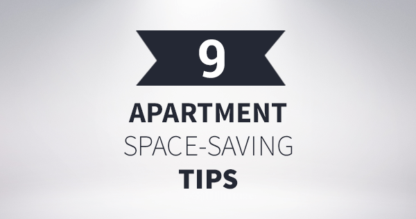 ways to add more space to apartment