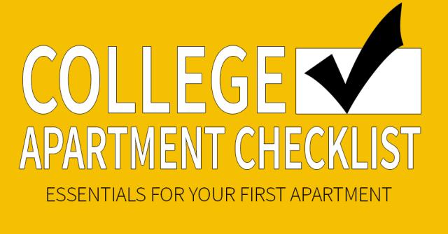 essentials for college apartments