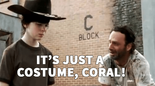 walking dead coral meme