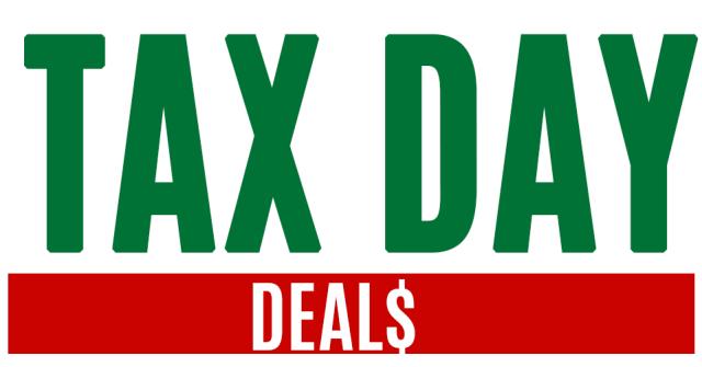 tax day deals freebies