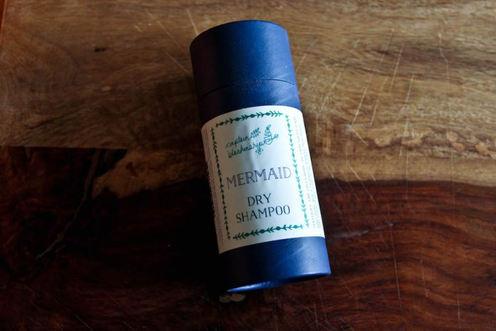 January Favorites Mermaid Hair Dry Shampoo from Captain Blankenship