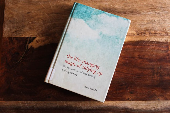 January Favorites Life-Changing Magic of Tidying Up by Marie Kondo