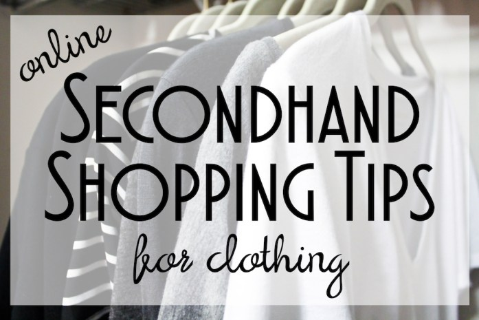 Secondhand Shopping Tips