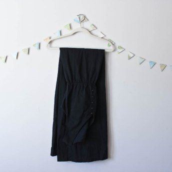 Travel Capsule Wardrobe Black Maxi Dress