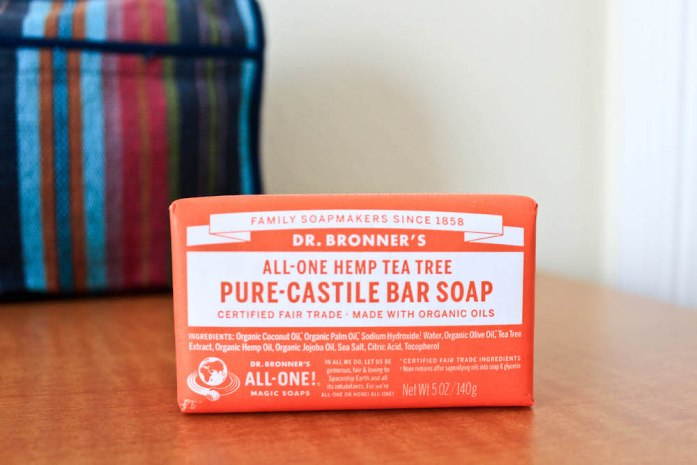 Natural Travel Toiletries