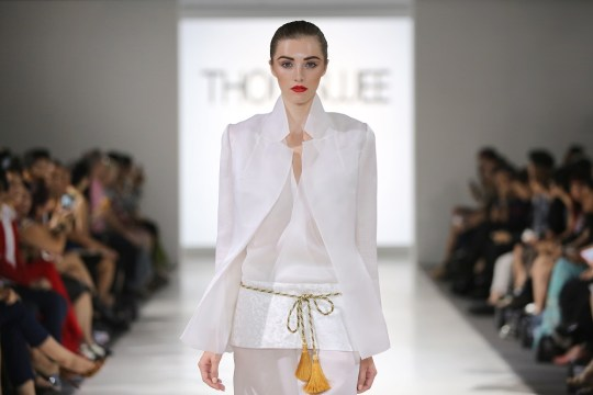 Jourdan modeling for Thomas Wee