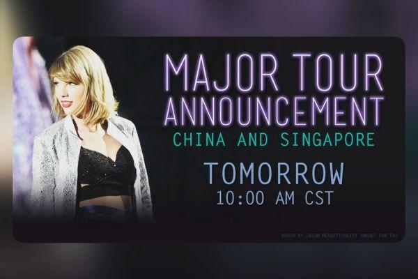 Taylor Swift Singapore - Popspoken