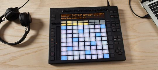 Btw, this is an Ableton Push.