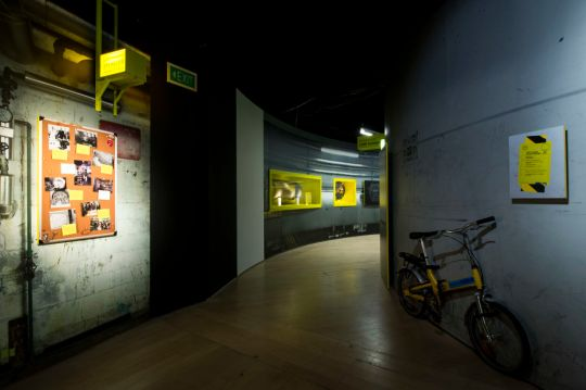 Collider exhibition, Bicycle at CERN