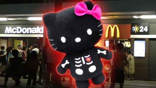 Queuing nightmares are made from this Hello Kitty. Credits: Eater