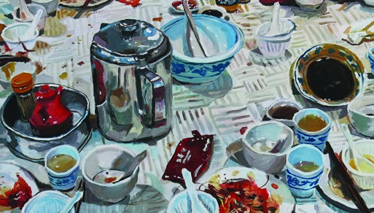 That's All There Is: Oil Painter Yeo Tze Yang Talks Art, Juggling University And Collab With PG Lee