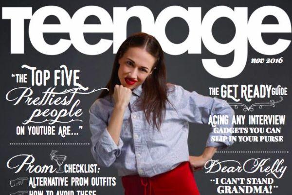 Teenage Magazine Dear Kelly - Popspoken