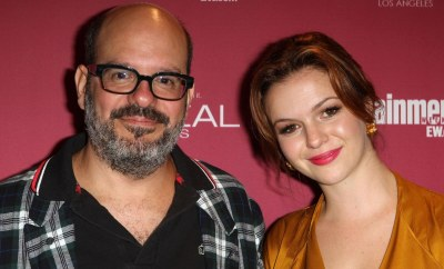 DAVID CROSS AND AMBER TAMBLYN