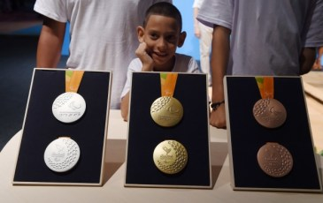 Serão 523 provas disputadas por 4 mil atletas de 176 países, que vão distribuir 2.642 medalhas.