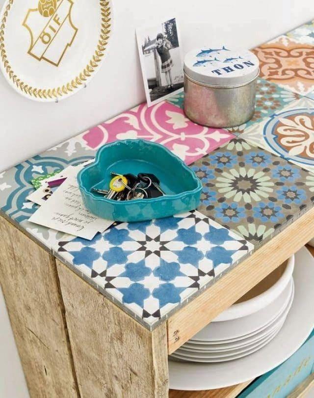 Renueva tu mesa con baldosas hidráulicas