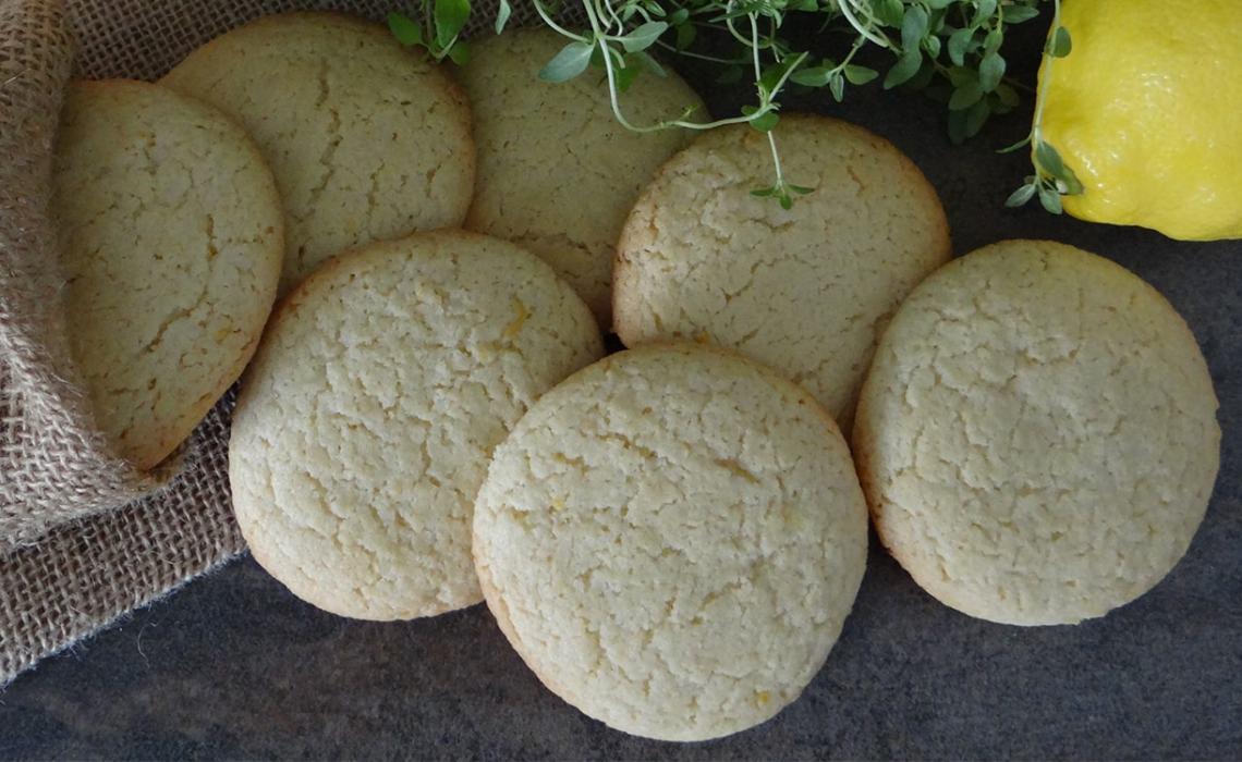 receta de galletas de limón