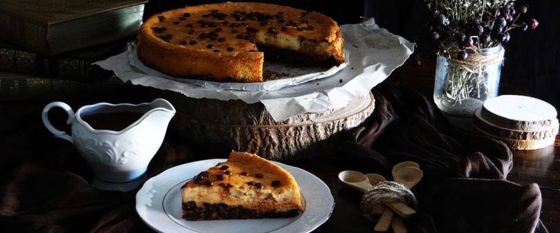 Cheesecake de chocolate (Receta sencilla)