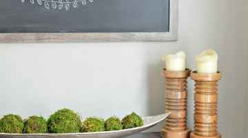 Easy DIY Framed Chalkboard