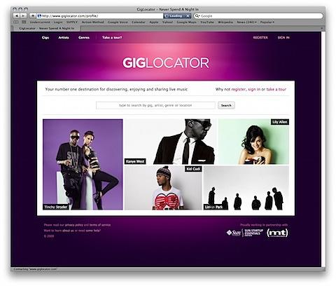 GigLocator