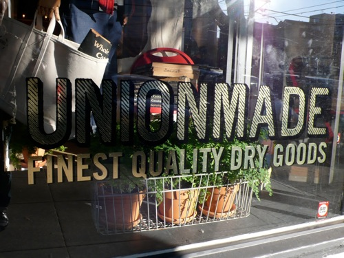 Inside San Francisco's UNIONMADE