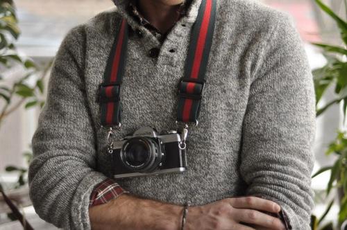 Classic Strap Co. Camera Strap