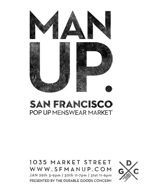 Man Up. San Francisco