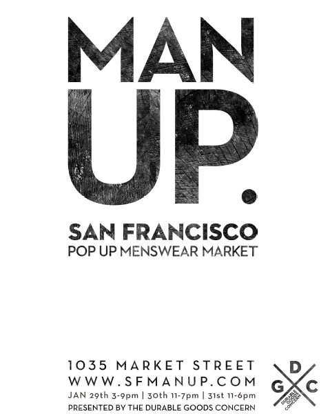 Man Up. San Francisco