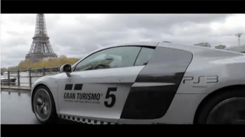 Gran Turismo 5 on the Streets of Paris