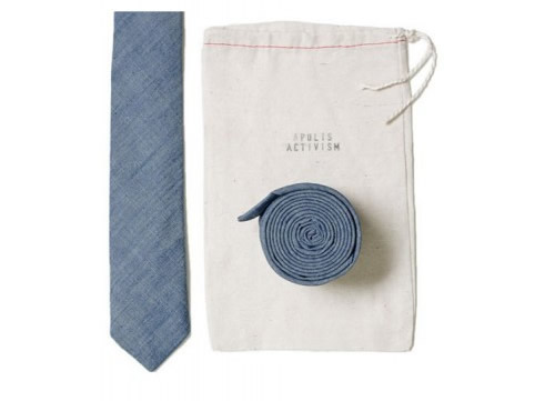 Apolis Uniform Chambray Tie