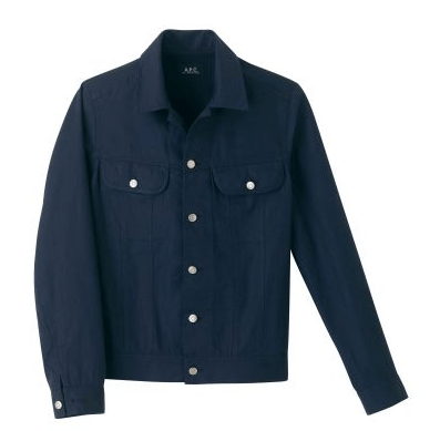 A.P.C. Navy Retro Jacket
