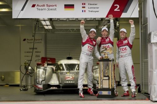 Audi Wins 2011 24 Hours of Le Mans