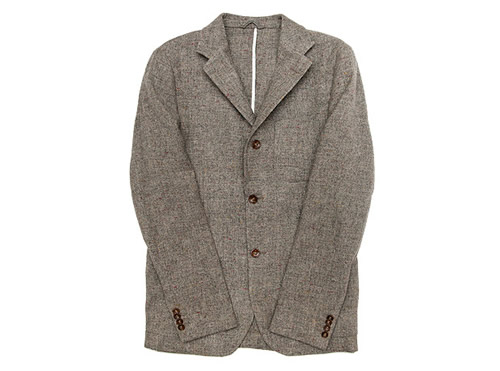 Our Legacy Rolling Three Button Blazer in Grey Weed