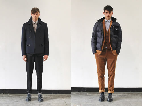 Shades of Grey by Micah Cohen Fall/Winter 2012 at NYFW