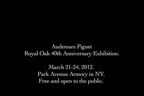 Audemars Piguet Royal Oak 40th Anniversary Exhibition